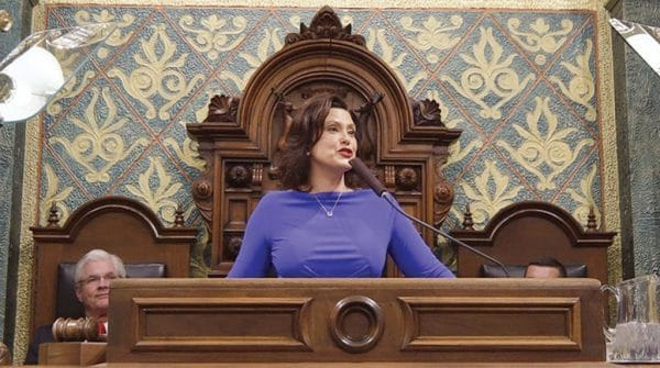 Michigan Gov. Gretchen Whitmer Proposes 45-cent Fuel Tax Hike