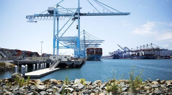 In Middle of Trade War, Port of Los Angeles Terminal Gets Ready for Robots