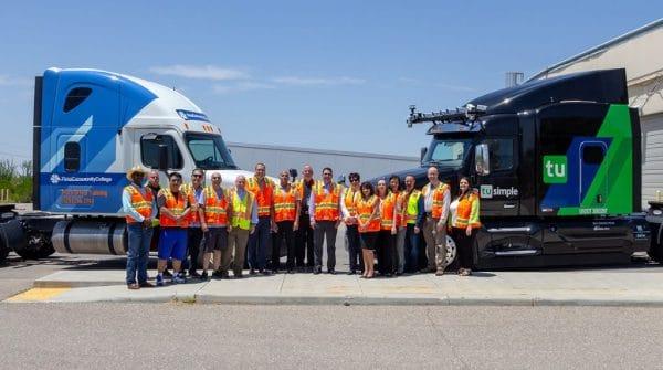 Humans Wanted: Self-Driving Truck Technology Firms Seek Drivers